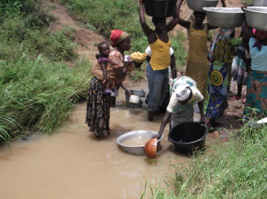 Rescure 5 communities from dying of water in Ghana