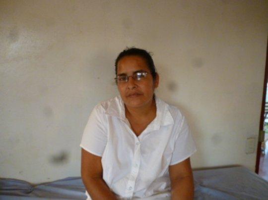 Nurse Alicia Ocampo