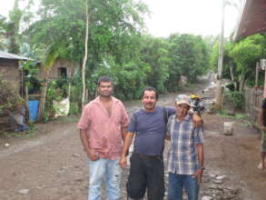 Freddy, Pedro, and Guillermo
