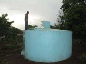 Photo of the water chlorinator in Cruz Verde