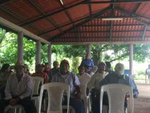 Quarterly Clean Water Meeting in Nueva Guinea
