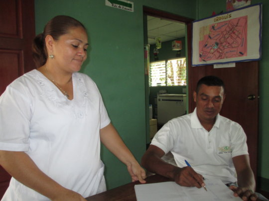 Orlando interviews nurse from Walter Acevedo