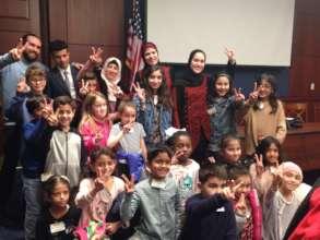 Medina Montessori Students Pinwheels for Peace