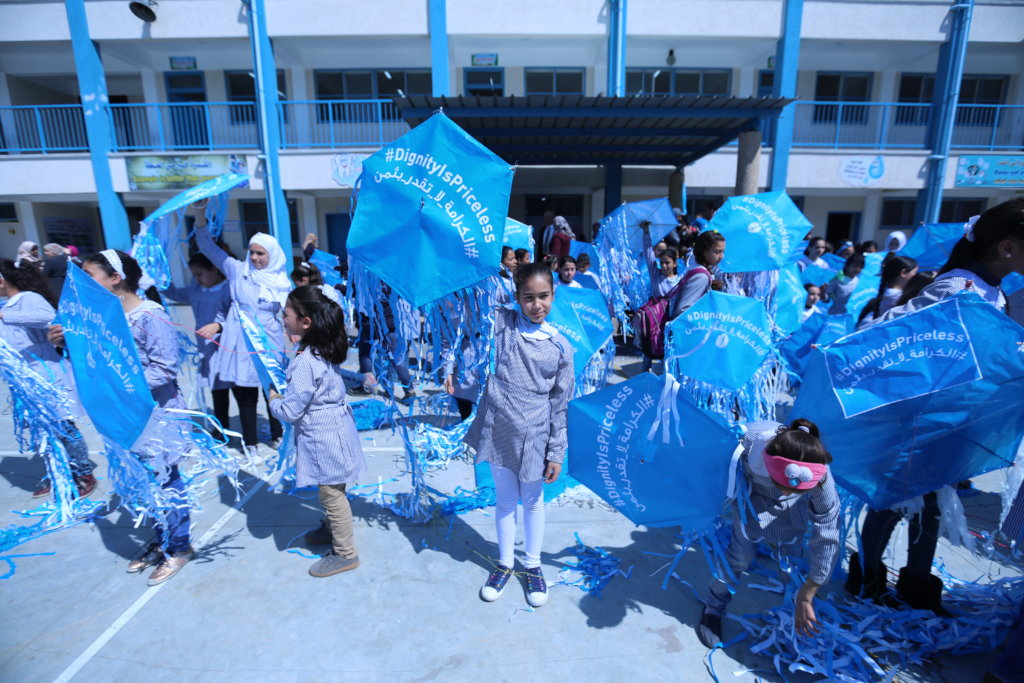 Big Goal:  Restore US support for UNRWA schools