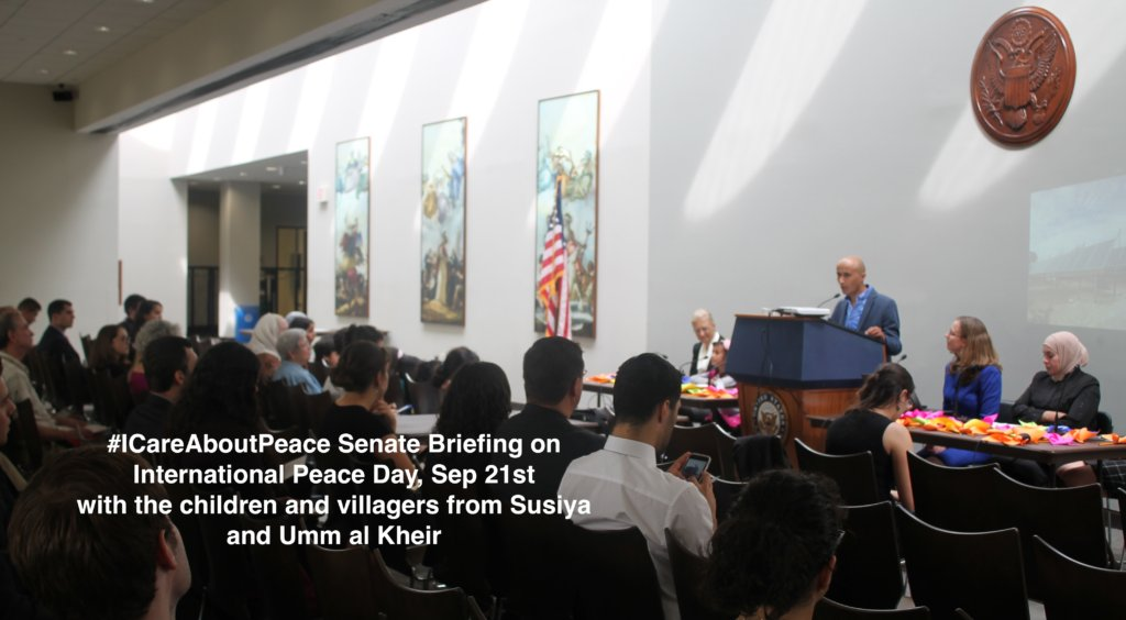 Sep. 21st 2016, International Peace Day Briefing