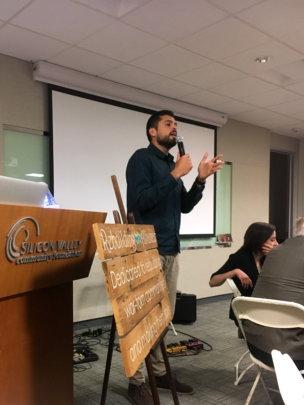 George Zeidan is a great speaker - a crowdpleaser!