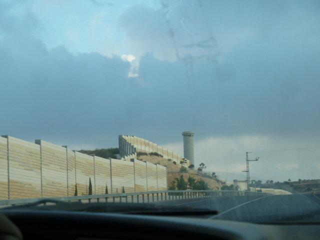 The Wall near Wadi Foquin