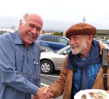 Amos Gvirtz and Michael Nagler, expert nonviolence