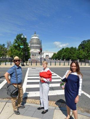 Our SaveSusiya Team at the Capital
