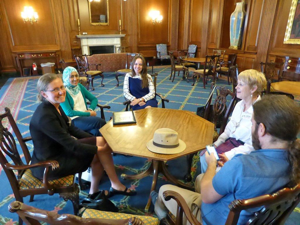 Meeting at Senator Pelosi