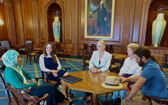 DC was surprising - Rep. Pelosi sent 2 staff