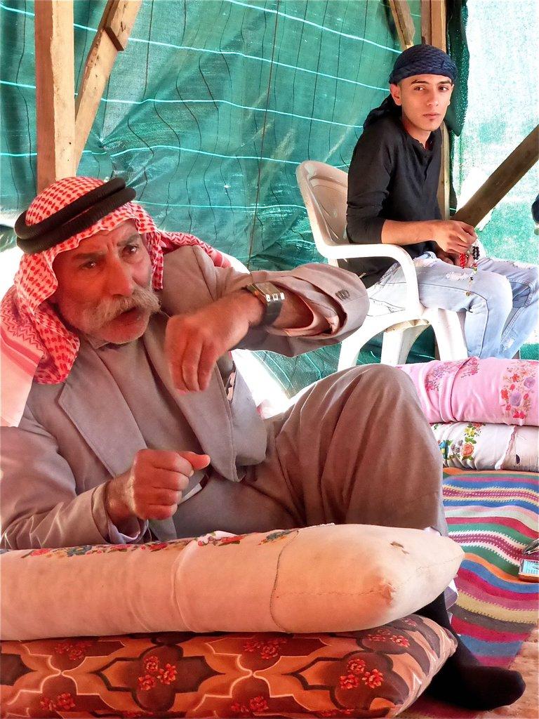 Sheik Sayah of Al Araqib is determined to stay