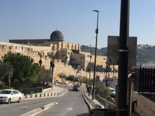 The Sumarin home is in Jerusalem's Old City