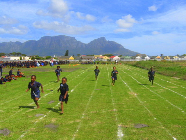 Current sports fields at CH South Africa