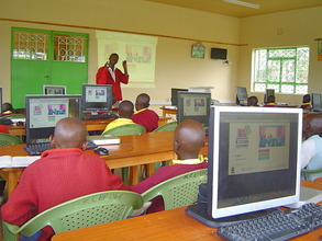 Introducing Exceed Academy to Mbaikini PS