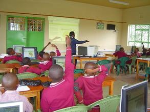 E-learning class for Wamunyu ABC