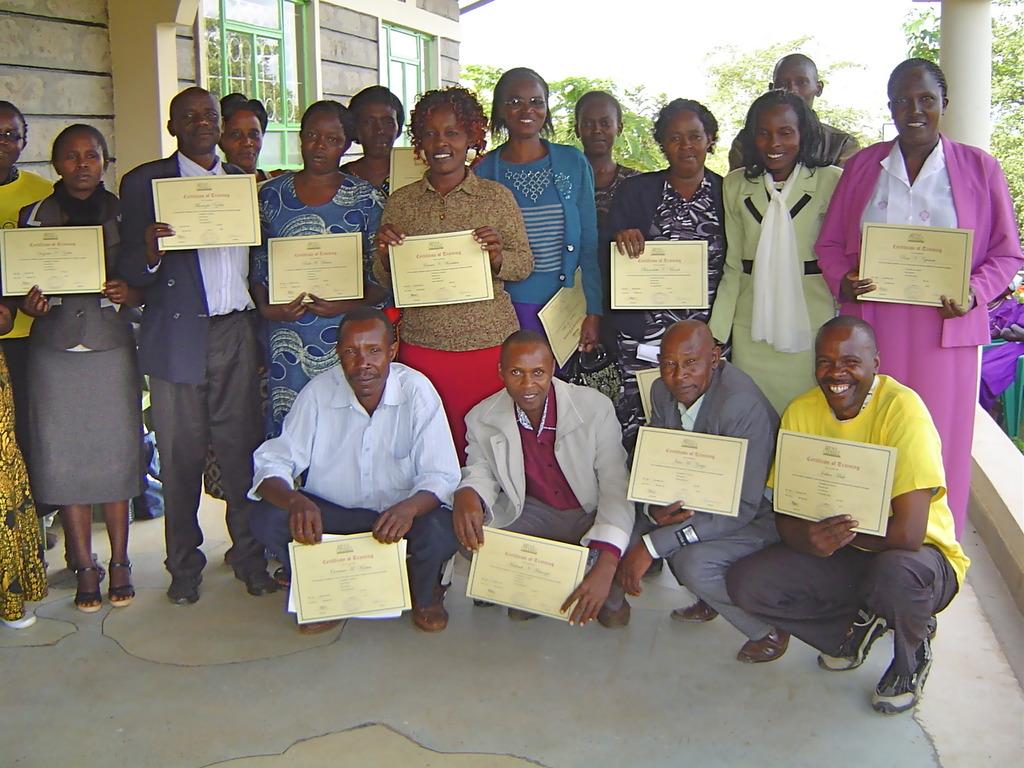 Graduating class for teachers