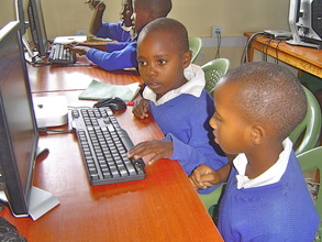 Mwaasua PS students in class