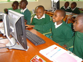 Nunga PS students at the LRC