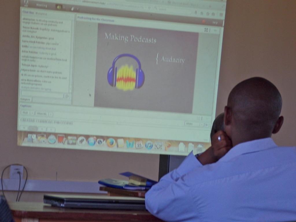 Webinar class in session
