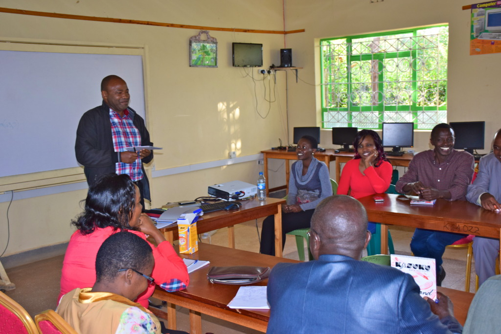 Ambassador Wambura at the LRC