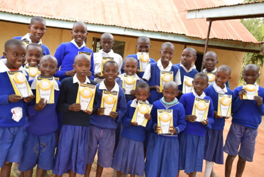 Solar lights issued to students