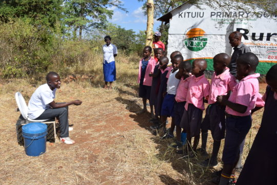 Training Students on Using Composting Toilets