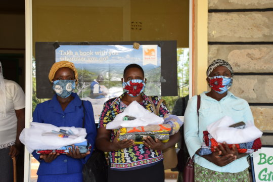Local Women Create the Masks