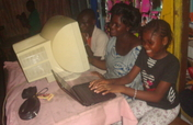 Computers for youth clubs in Benin