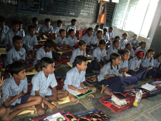 Children at the Class room
