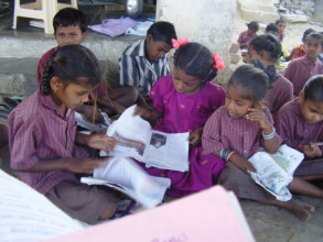 Children are studying
