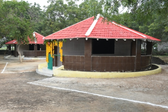 Renovated class rooms