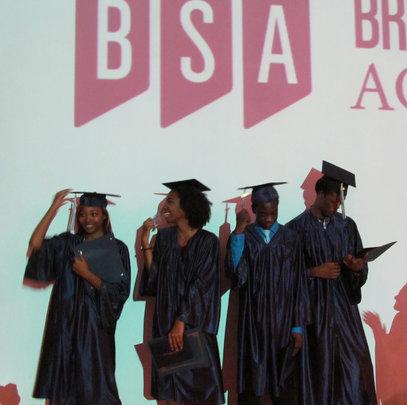 The first grads of BSA!