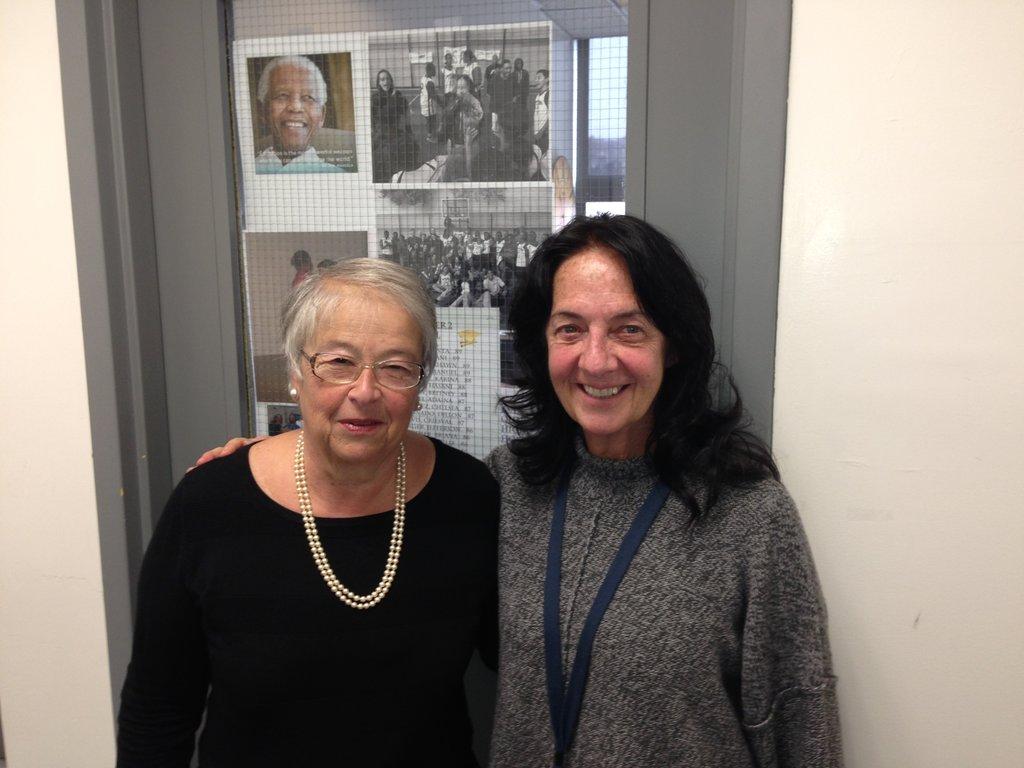 Chancellor Farina with Dr. McKeon