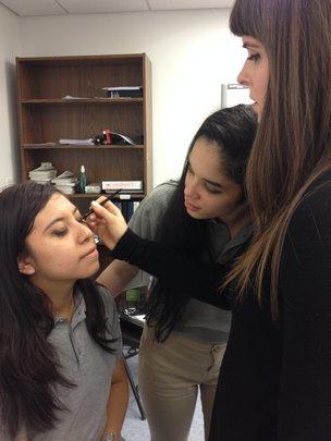 A Bobbi Brown Make-Up Artist Teaches BSA Students