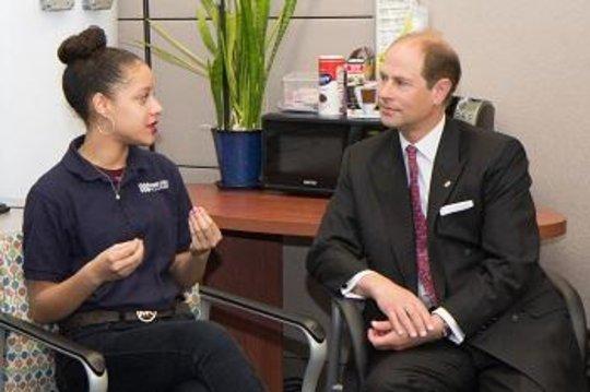 His Royal Highness, Prince Edward visits BSA