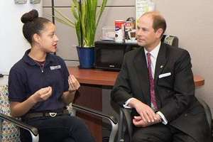 His Royal Highness, Prince Edward visits BSA