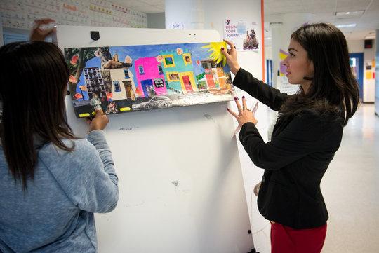 Ms. Zamora - Art Teacher