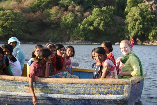 Boat trip on Nakki lake, Mount Abu