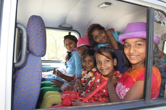 En route to Mount Abu!