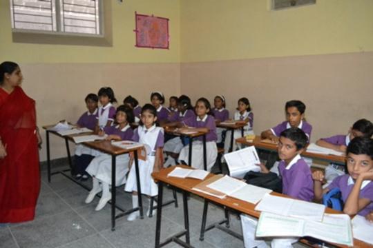 In Class at Galaxy School