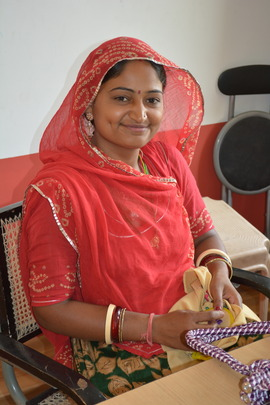 Pooja Kanwar, tutor at our new Centre