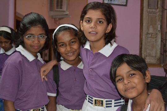 Sangeeta, Aasu, Manisha and Pankaj