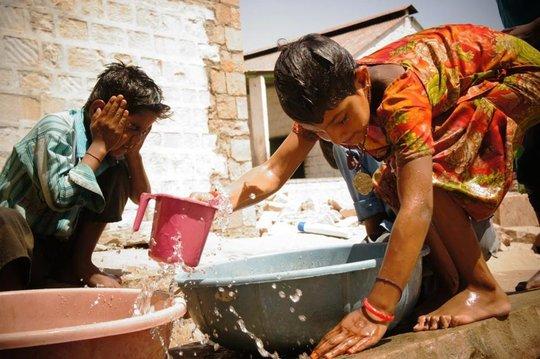Hygiene class in Setrawa