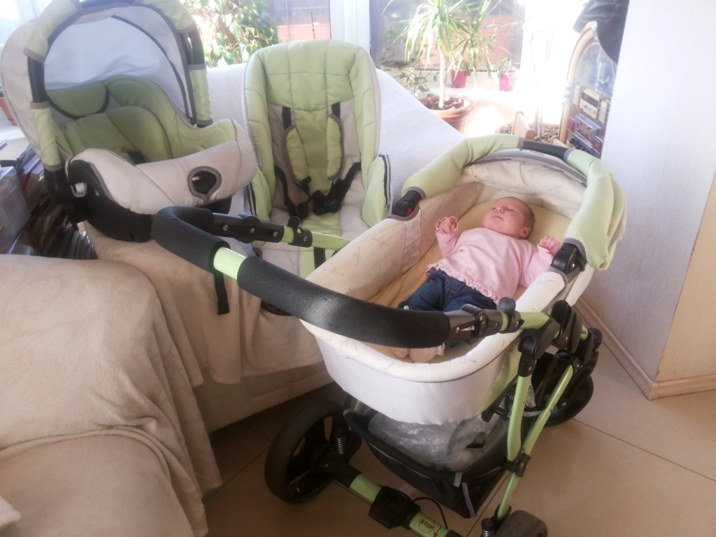 Going for a walk with family