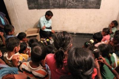 Provide labs and books for children in Kuppam