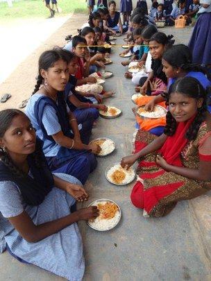 Thank you for feeding poor school children