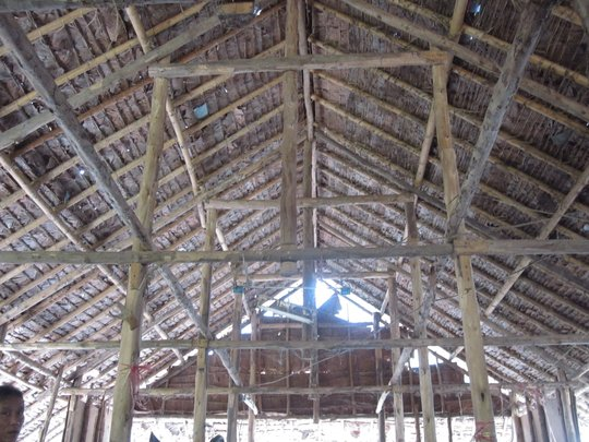 DARE Recovery Centre roof in Mae La