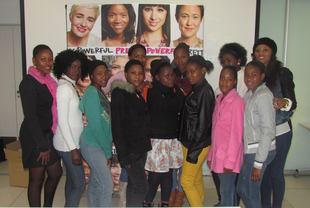 The excited girls from Vosloorus