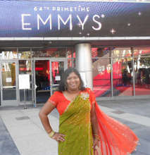 Thushari, Academy Member, at the 2012 EMMYS